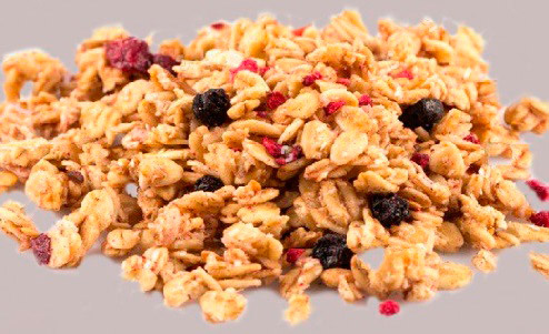 Whole grain, berries and seeds